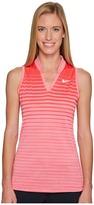 Nike Precision Fall Sleeveless Jacquard Polo Women's Sleeveless