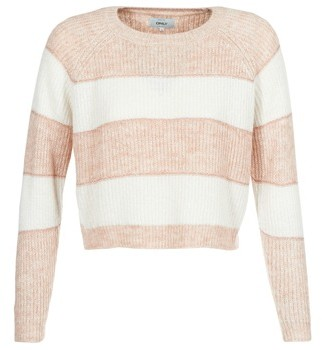 Only ONLMALONE women's Sweater in White