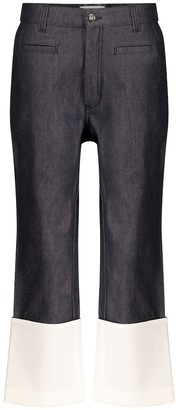 Loewe High-rise straight jeans