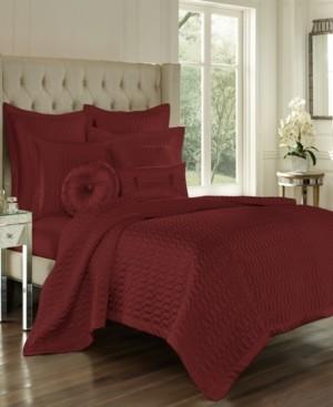 J Queen New York J Queen Satinique Cabernet Full/Queen Quilt Bedding