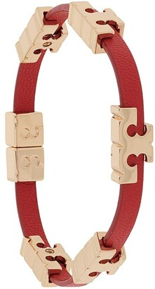 Tory Burch Logo Plaque Bracelet
