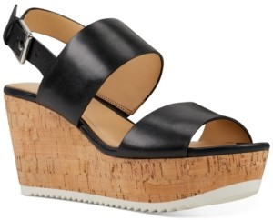 Nine West Dera Platform Wedge Sandals Women's Shoes