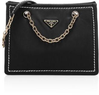 Prada Tessuto Chain Nylon Shopper