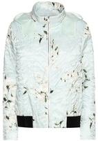 Moncler Gamme Rouge Magnolia Printed Down Jacket