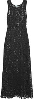 Melissa Odabash Jamie Lace Maxi Dress - Black