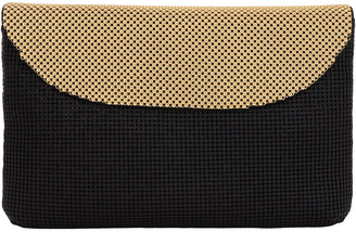 Whiting & Davis Dimple Flap Clutch