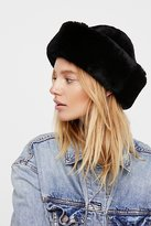 Free People Snowball Shearling Hat