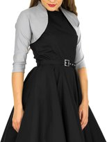 Butterfly Clothing Butterfly Tailored 3/4 Sleeve Bolero (, US)