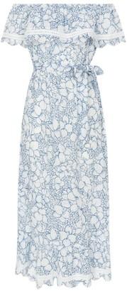 Marysia Swim Tie-Waist Lemnos Dress