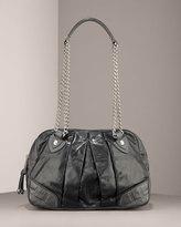 Bowler Pleated Shoulder Bag