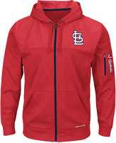 Majestic Men's St. Louis Cardinals Payback Moment Full-Zip Hoodie