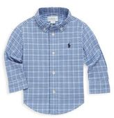 Ralph Lauren Baby's Plaid Cotton Collared Shirt