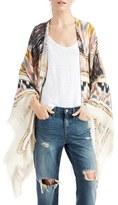 Sole Society Women's Geo Print Kimono