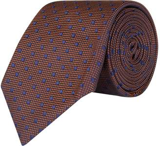 Corneliani Silk Polka Dot Tie