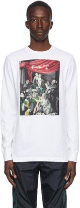 Off-White White Caravaggio Painting Long Sleeve T-Shirt