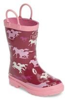 Hatley Toddler Girl's Fairy Tale Horses Rain Boot