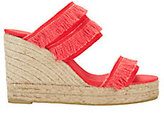Castaner Basha Fringe Canvas Wedges