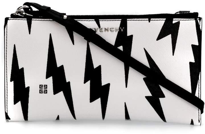 Givenchy lightning print cross-body bag