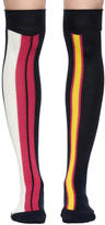Sacai Multicolor Striped Socks