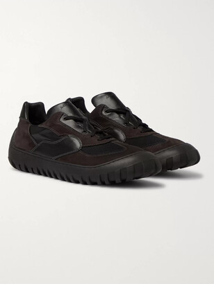 A-Cold-Wall* 180 Strand Leather, Nubuck And Mesh Sneakers