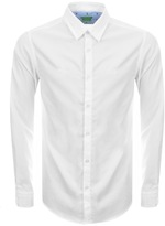 BOSS GREEN Long Sleeve C Buster Shirt White
