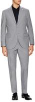 Lubiam Cotton Sharkskin Notch Lapel Suit