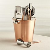 Crate & Barrel Bar Tool Set Copper