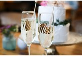 Lulu & Georgia Mr. & Mrs. Champagne Flute (Set of 2)