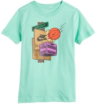 Nike Boys 8-20 Sportswear Basketball T-Shirt