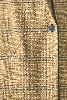 Forte Forte Wool Cotton Glen Check Jacket