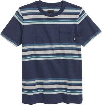 Vans Exton Stripe Pocket T-Shirt