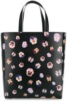 Christopher Kane 'Pansy' tote bag - women - Leather/Cotton - One Size