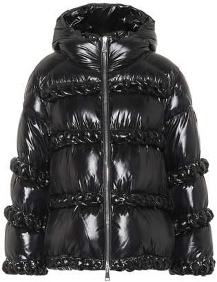 Noir Kei Ninomiya Moncler Genius 6 MONCLER Ametrine down jacket