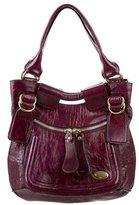 Chloé Patent Leather Bay Bag