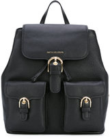 MICHAEL Michael Kors buckled backpack - women - Leather - One Size