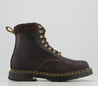 Dr. Martens 1460 Collar Boots Cocoa Snowplow