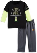 Under Armour Boys' Try Me Tech Tee & Pants Set - Sizes 2-4
