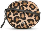 No.21 leopard print crossbody bag - women - Leather/Calf Hair - One Size