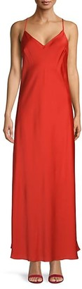 BCBGMAXAZRIA Satin Slip Dress