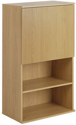 Hygena Modular Single Door Oak Wall Cabinet
