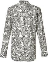 Alexander McQueen paisley print shirt