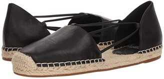 Eileen Fisher Lee (Black Washed Leather) Women's Flat Shoes
