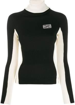 Elisabetta Franchi roll neck sweater