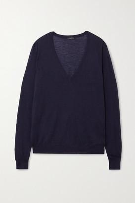 Joseph Cashmere Sweater - Navy