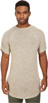 Publish Men's Keon - Heathered Short Sleeve Knit Tee T-Shirt XL
