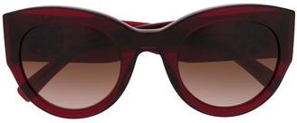 Versace Eyewear Oversized Frame Sunglasses