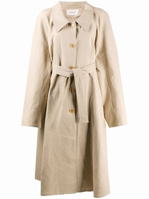 Lemaire Belted Flared Trench Coat