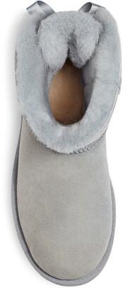 UGG Mini Bailey Bow II Genuine Shearling Bootie