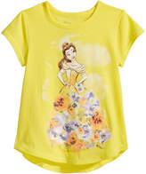 Disney Disney's Beauty and The Beast Belle Cotton T-Shirt, Toddler Girls