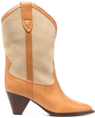 Isabel Marant Western-style mid-calf boots